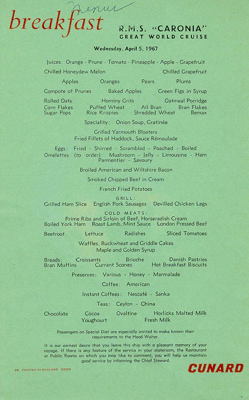 46 best Holland America Steamship Menu Covers images on Pinterest ...