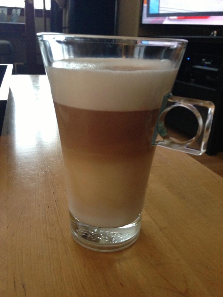Caramel macchiato made by our new Nescafé gusto :)