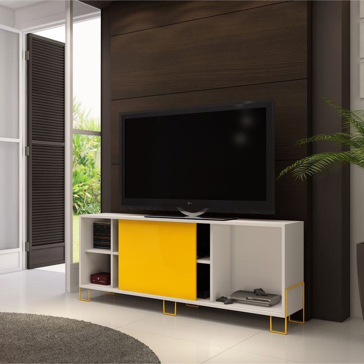 Que tal um #rack com um estilo diferente para a #decoração da sua #casa? #Prod145405