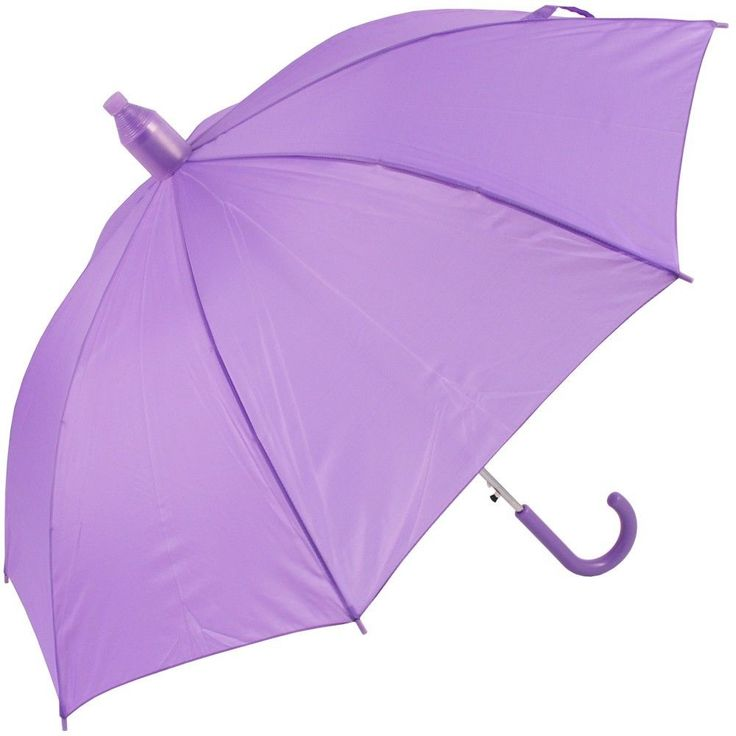 Purple umbrella...