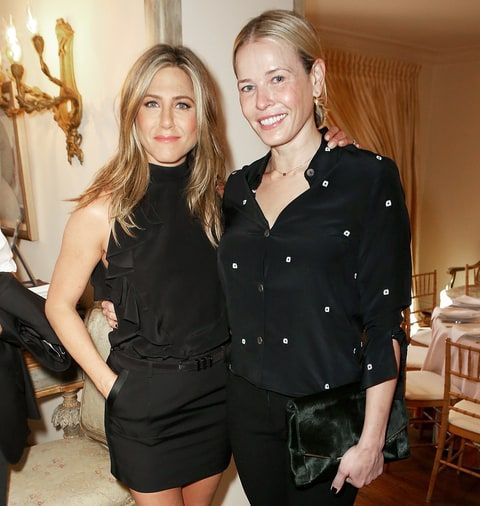 Chelsea Handler said that she doesn't think the 'Friends' actress cares about what's going on with Angelina Jolie and Brad Pitt's divorce — read more