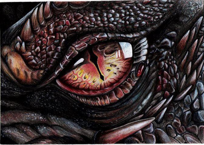 Dragon eye by Annaria17 on DeviantArt Dragon eye, Dragon