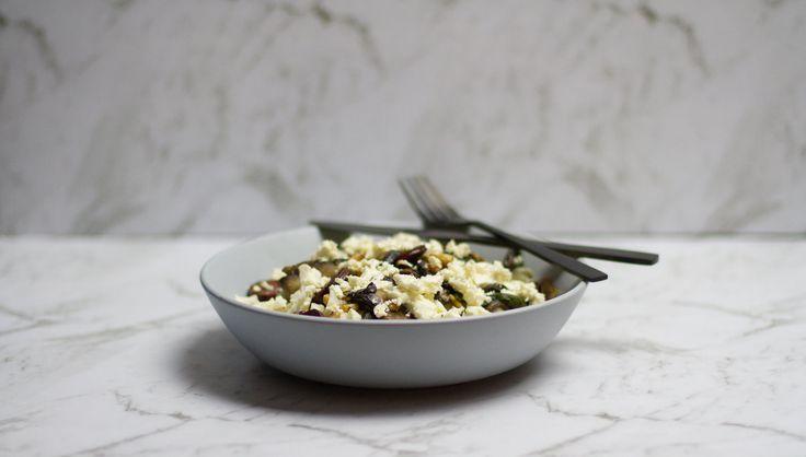 Chorizo and Mushroom Pasta
