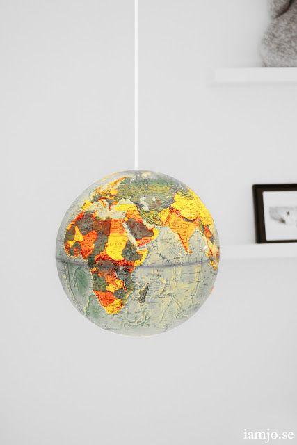 I am Jo.: DIY Globe.
