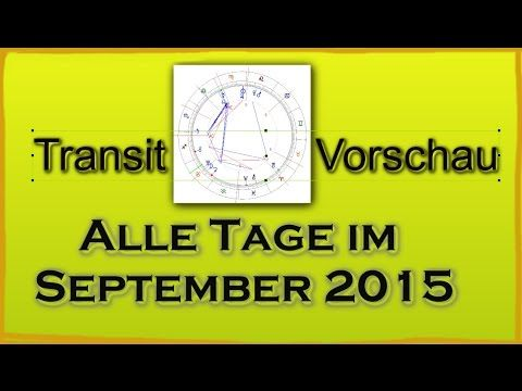 Alle Tage im September 2015 - Transite