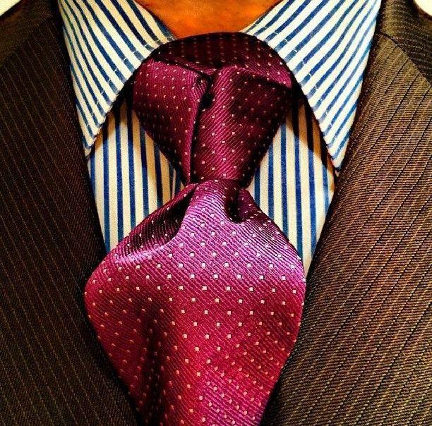 #tutorial #tie #knot #trinity #diy #diybazaar #fashion #men #style  Full tutorial on website. Click to see it!