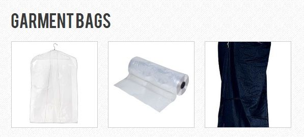 Garment Covers, Bags, Polyethylene Rolls and More