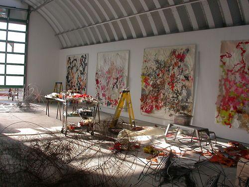 Judy Pfaff's Studio