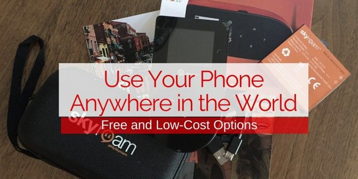 use phone anywhere in the world