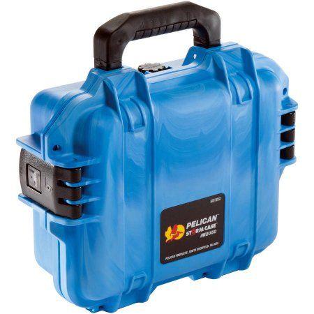 Pelican iM2050 Storm Case with Cubed Foam, Blue Swirl