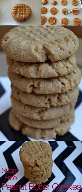 Cookin' Cowgirl: Sugar Free Peanut Butter Cookies(for my diabetic neighbors)