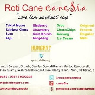 Roti Cane caneSia. Tersedia frozen (original) dan berbagai topping. Check www.roticanecanesia.blogspot.com #canesia #roticane #canai #food #culinary #foodporn #kuliner #deliveryorder #onlineshop