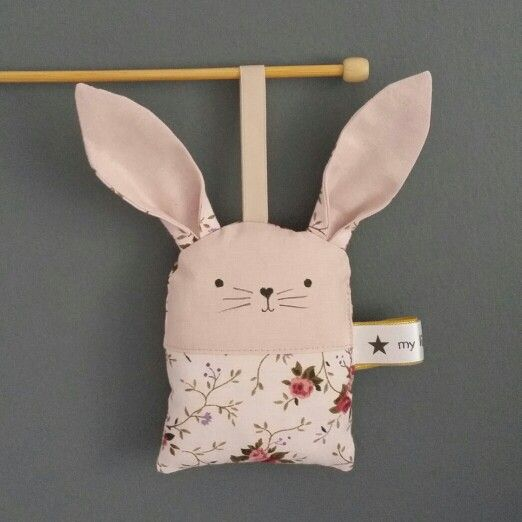 Bunny hanging toy by my little Archie