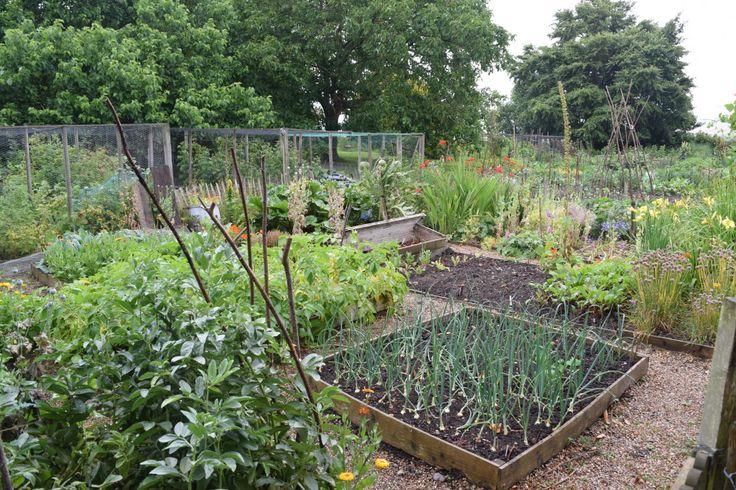 Monk's house vegetable garden