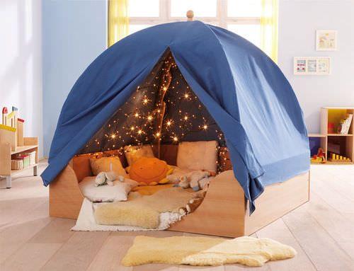 Les 25 meilleures id es concernant lit montessori sur pinterest lit enfant bas chambres de - Cabane bebe interieur ...