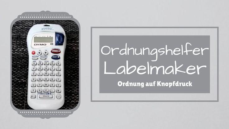 Ordnungshelfer - Beschriftungsgerät - Dymo Letra Tag XR