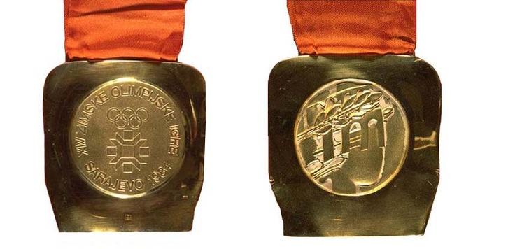1984 Sarajevo Olympic Medals