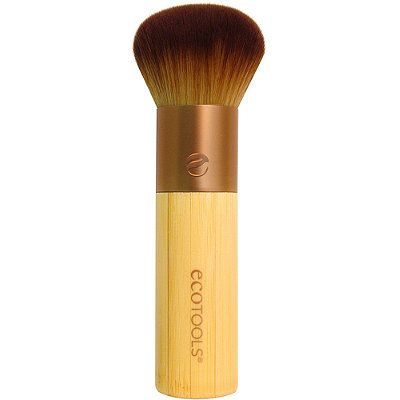 Best Brush for Bronzer (Affordable): Eco Tools Bamboo Bronzer Brush.  Very densely packed soft bristles.  Perfect for the subtle application of bronzer.