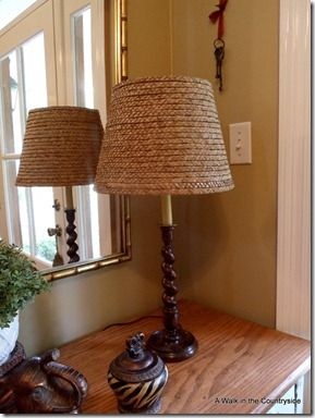 how to make this lampshade