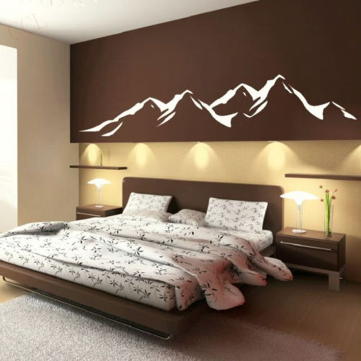 ... China Wallpaper Roll Suppliers: Mountains Modern Designe Vinyls Wall  Decals Wall Stickers Art Wallpaper , Bedroom, Living Room Decoration Home  Decor Part 93