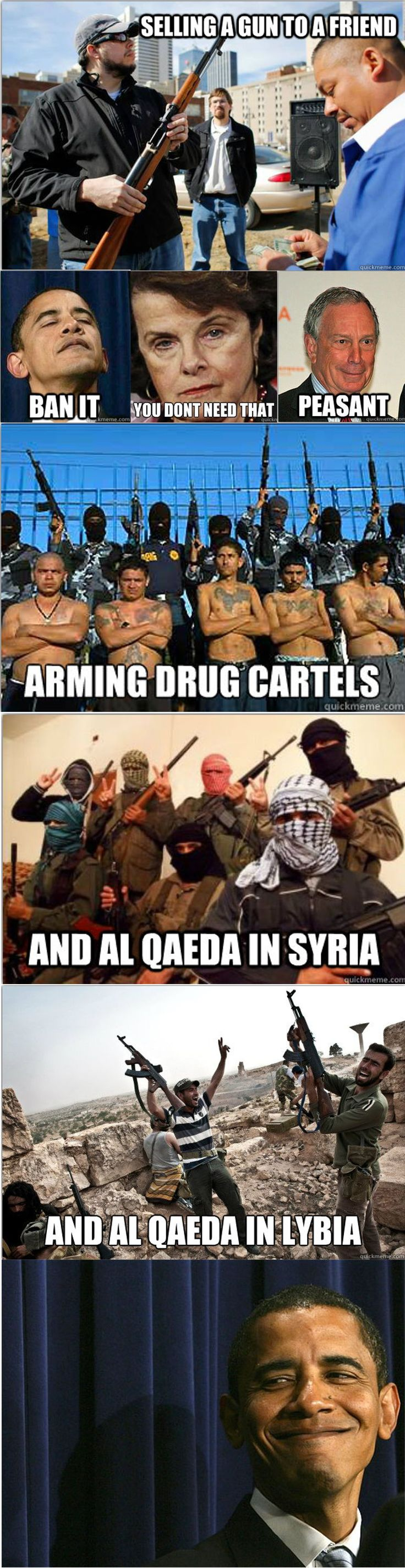 The creator of this meme must've conveniently forgotten about funding of Columbian and Nicaraguan drug cartels/Iran Contra/Saddam Hussein acquiring means to create WMD's/CIA training of Osama Bin Laden: ALL under the Reagan Administration.