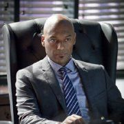 Still of Colin Salmon and Cate Cameron in Arrow (2012)