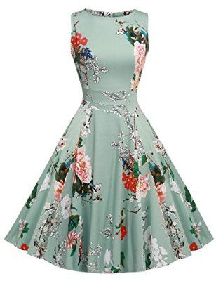 Floral dress - great birthday gifts for wife on her first birthday after marriage.  See more #giftideas