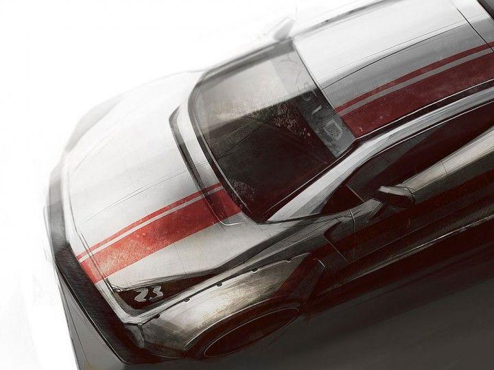 Tutorial Link: Photoshop Demo Car Sketch 2