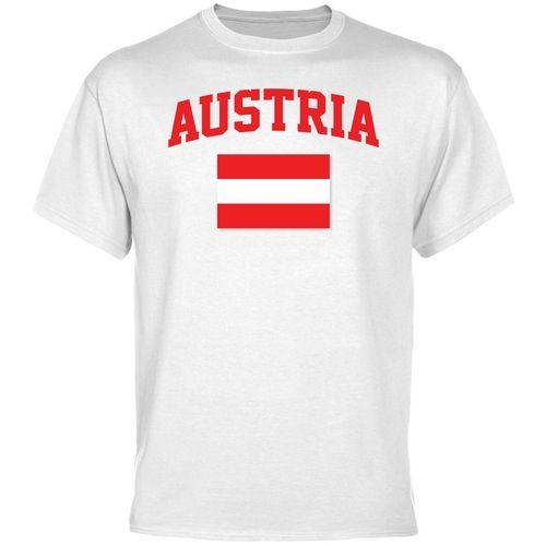 Olympics;Soccer Austria Flag T-Shirt