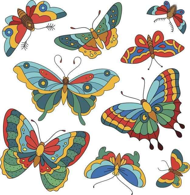 Whenever you walk into a new tattoo shop, you'll be greeted with a smirk and a portfolio of butterfly art.
