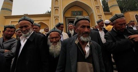 Chinese Govt Bans Long Beards, Veils in Muslim Dominated Region