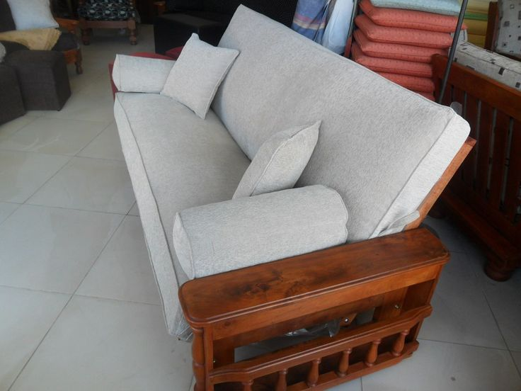 Colchones o almohadones para futon en placa soft for Almohadones para sillones