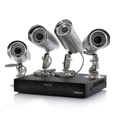 4 Camera + DVR Surveillance Kit - 4 Outdoor IP Cameras, H.264, 500GB, Supports Mobile Phone Browsing   http://www.chinavasion.com/china/wholesale/Surveillance_Security/DVR_Cards_Systems/4_Camera_DVR_Surveillance_Kit_-_4_Outdoor_IP_Cameras_H.264_500GB_Supports_Mobile_Phone_Browsing/