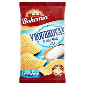 Bohemia Vroubkované s mořskou solí 70g