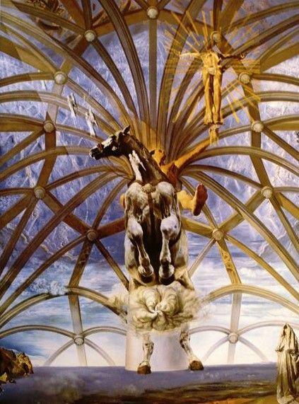 Salvador Dali (1904-1989) - Santiago El Grande - Costume for Tristan Insane