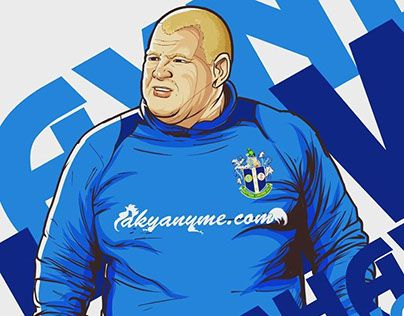 """Check out new work on my @Behance portfolio: """"Wayne Shaw of Sutton United FC"""" http://be.net/gallery/50135297/Wayne-Shaw-of-Sutton-United-FC"""