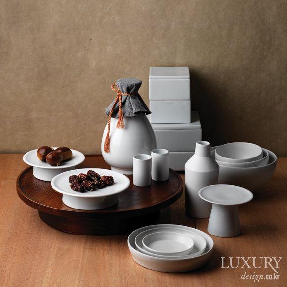 LUXURY_ 음식의 맛과 담음새에 품격을 더하는 전통 그릇 6가지 아름다운 추석상