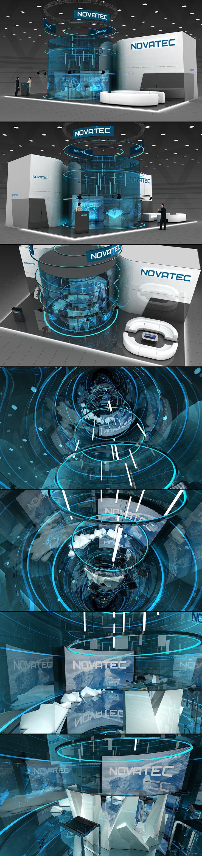 Ознакомьтесь с этим проектом @Behance: «Novatec exhibition stand» https://www.behance.net/gallery/36630337/Novatec-exhibition-stand