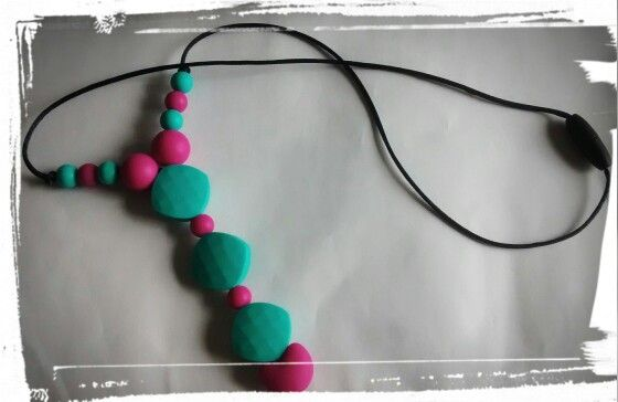 Collier de dentition/silicone theething necklace