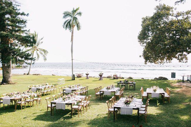 CAITLIN: simple olowalu plantation wedding