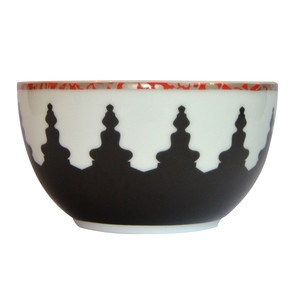 Mosaic Bowl Black White, $14.95, now featured on Fab.
