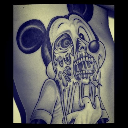 mickey mouse tattoo tumblr mickey mouse tats pinterest zombie tattoos mice and mickey. Black Bedroom Furniture Sets. Home Design Ideas