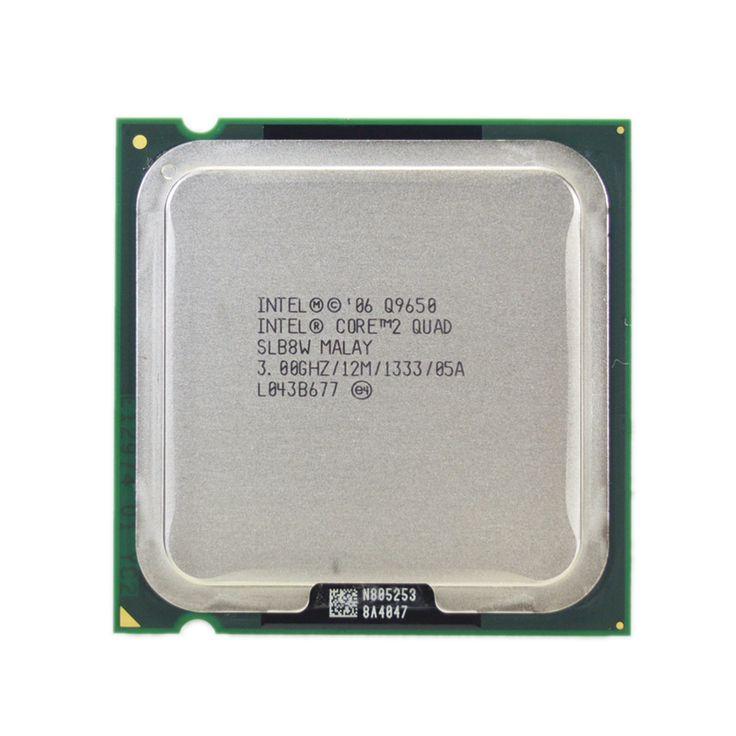 Intel core 2 quad q9650 processeur 3.0 ghz 12 mb cache fsb 1333 de bureau lga 775 cpu