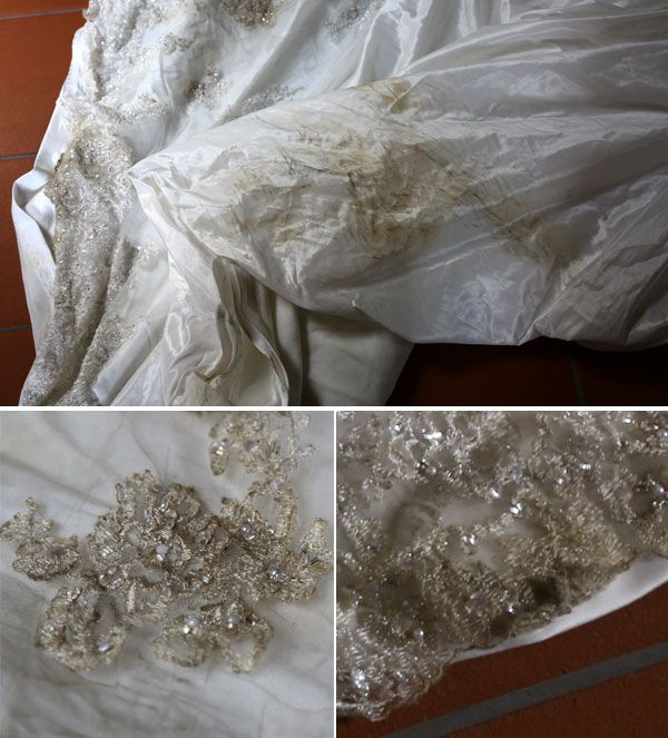 DIY: How to Clean Your Wedding Dress :  wedding columbus wedding dress 603 603