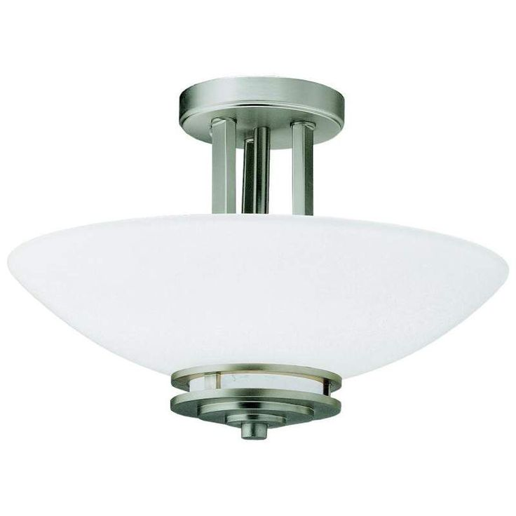 View the Kichler 3674 Hendrik 2 Light Semi-Flush Indoor Ceiling Fixture at LightingDirect.com.