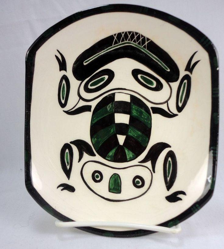 David Lambert Potteries #4 FROG Dish Haida Tribe British Columbia Canada | eBay