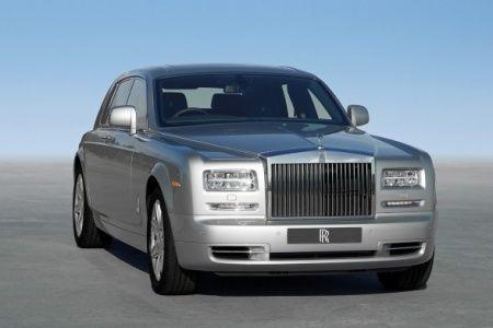 Ivan's silver Rolls Royce sedan in Moscow,