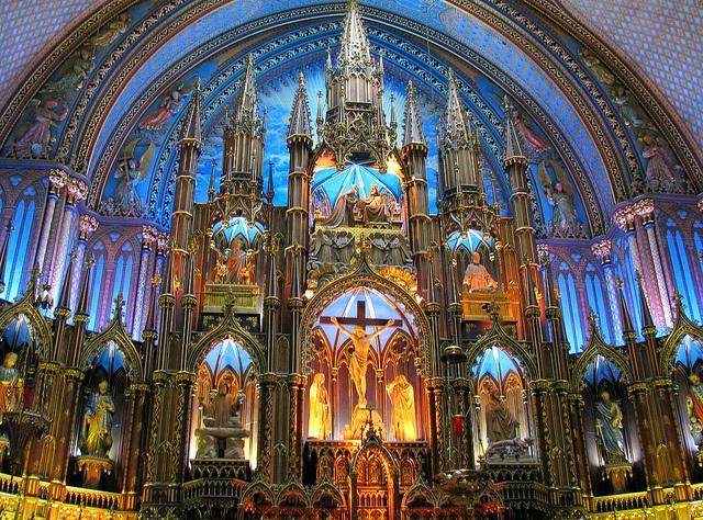 ✯ Basilique Notre-Dame - Montréal, Canada