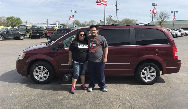 """Sandra, wishing you many """"Miles of Smiles"""" in your 2009 CHRYSLER TOWN & COUNTRY!  All the best, Kunes Country Ford Lincoln of Sterling and DREW ROWLEY."""