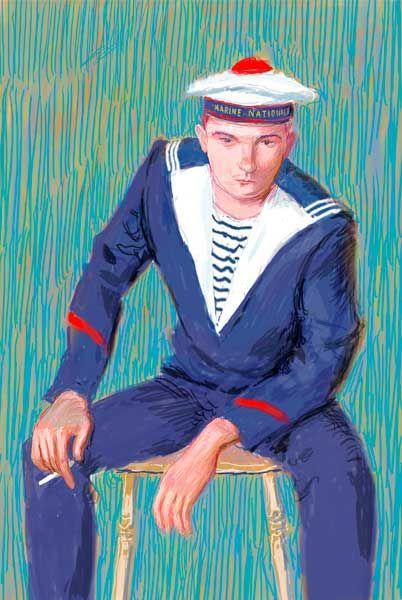ART & ARTISTS: David Hockney digital portraits